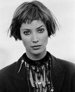 Christie Turlington portrait