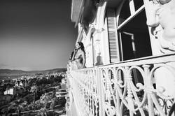 Il balcone vista mare