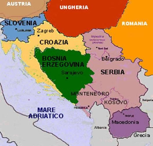 Cartina Jugoslavia.Viaggio Nel Calcio Della Ex Jugoslavia