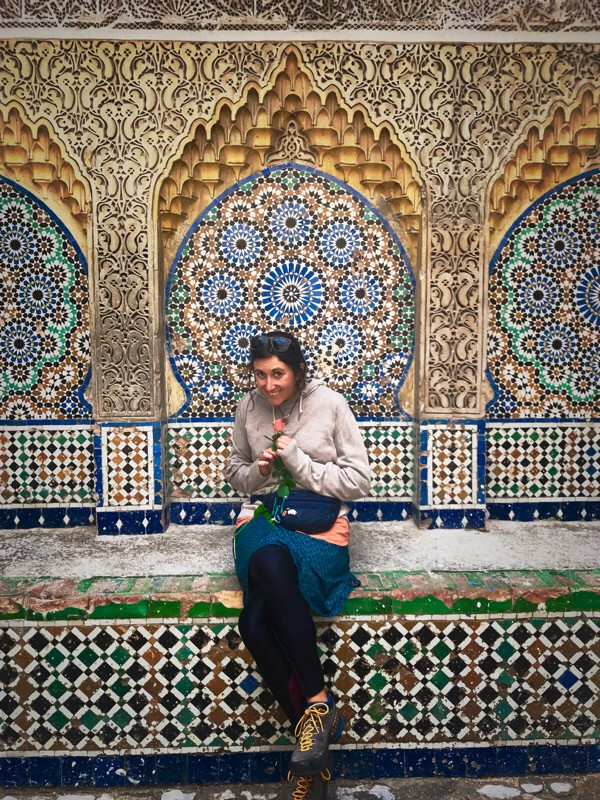 Moroccan architecture and intricate mosaic art