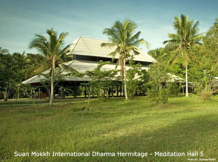 Wat Suan Mokk Meditation Hall, Thailand