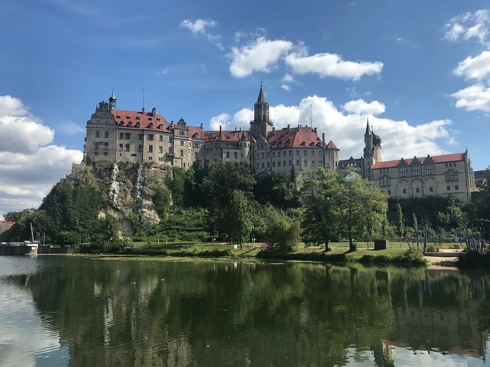 Sigmaringen Castle along the Danube River.