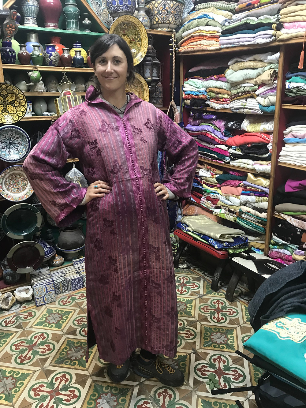 Traditional Moroccan clothes