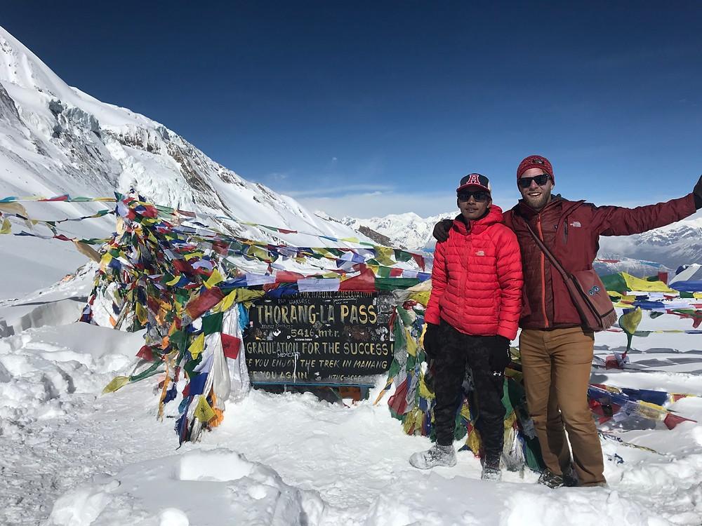 Thorang Pass in the Annapurna Circuit Trek