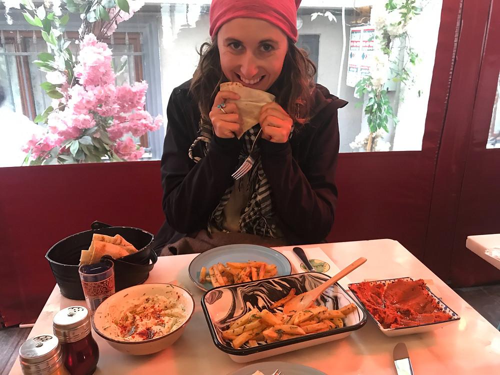 Vegan Lebanese Food Istanbul Turkey
