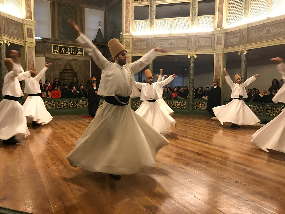 Whirling Dervishes at the Galata Mevlevi Museum