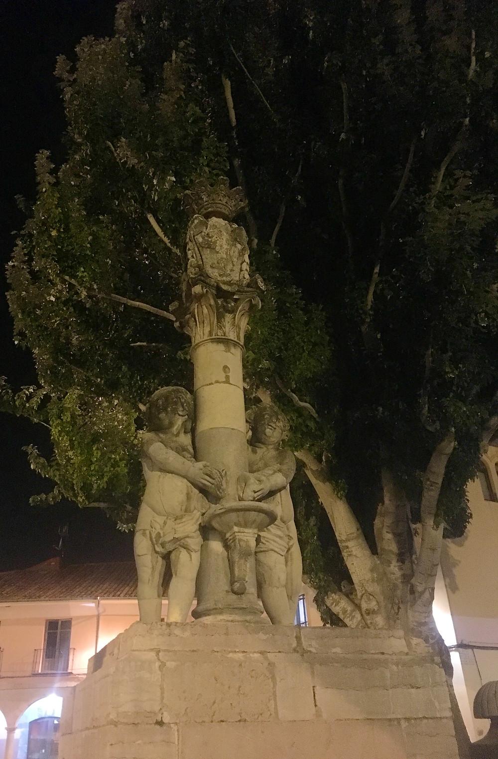 Spanish Cherub Fountain