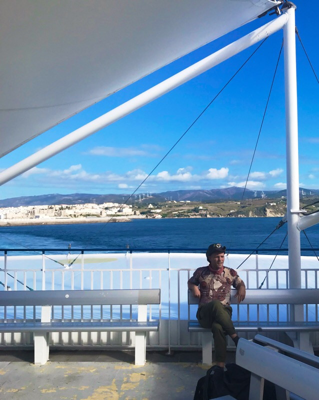 Ferry from Tarifa Spain to Tangier Morocco