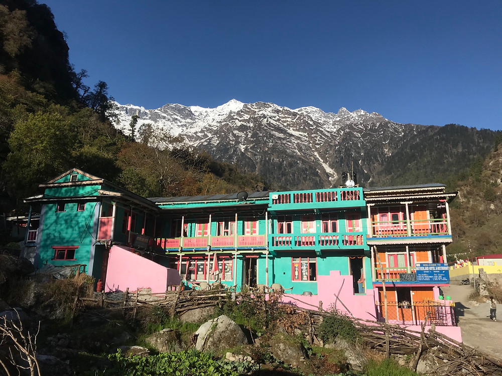 Guesthouse on the Annapurna circuit