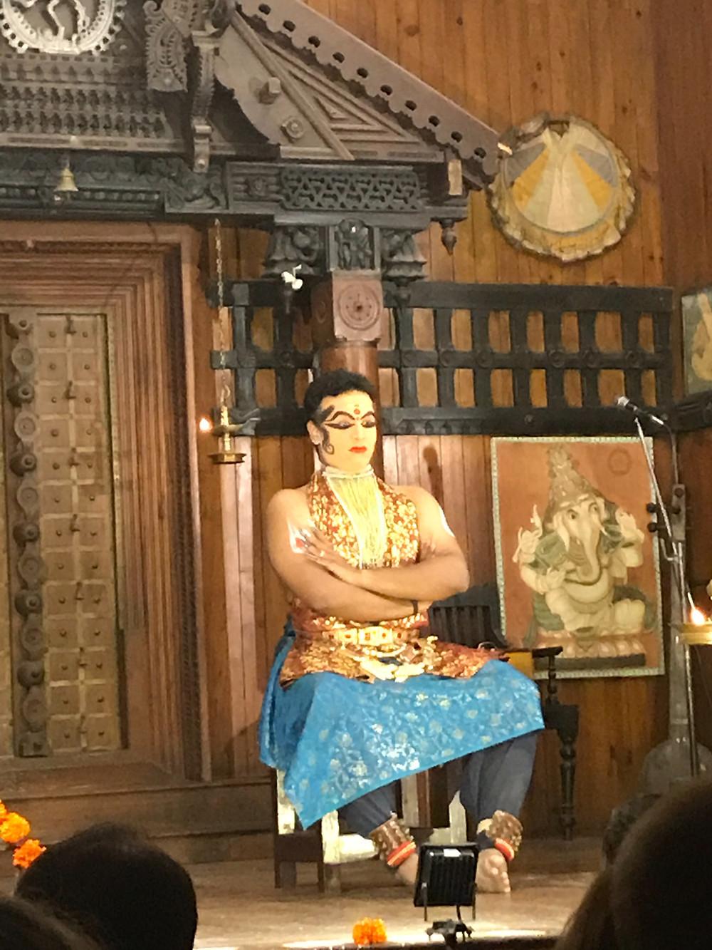 Kathakali traditional Indian dance in Fort Kochi