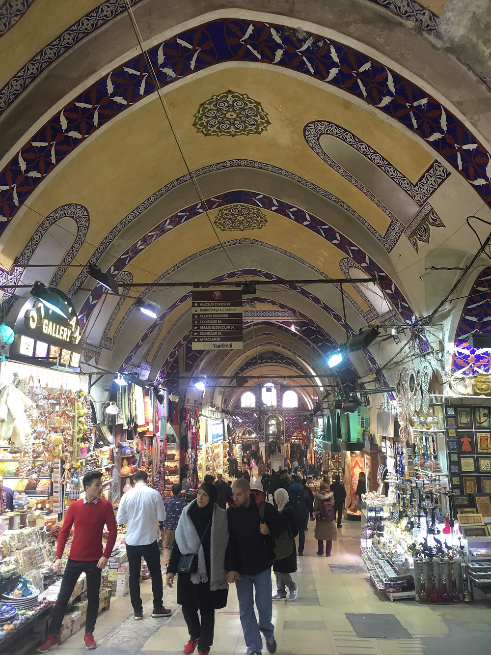 Spice shops in the Grand Bazaar Istanbul