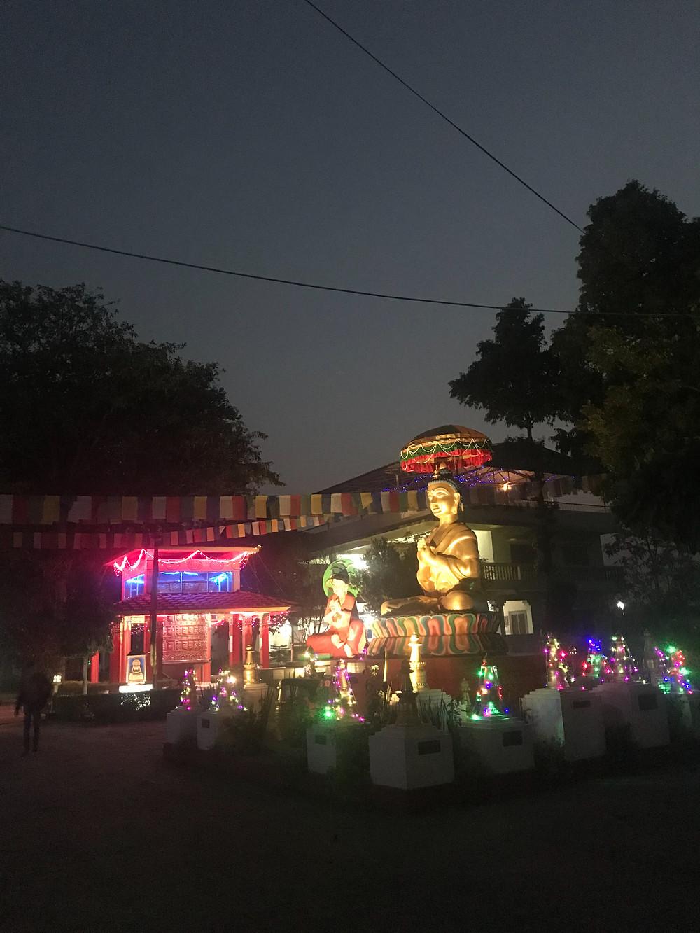 Root Institute, Bodhgaya, India, Buddha