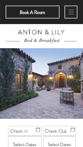 Hotel e B&B template – Bed and Breakfast