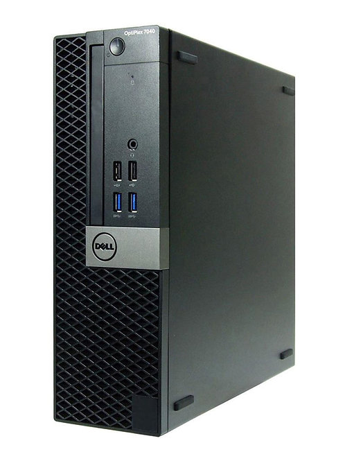 Dell Optiplex 7040, 3.2 GHz; Quad Core; i5 6th Gen; 240 SSD; 8GB Mem; DVDRW; SFF
