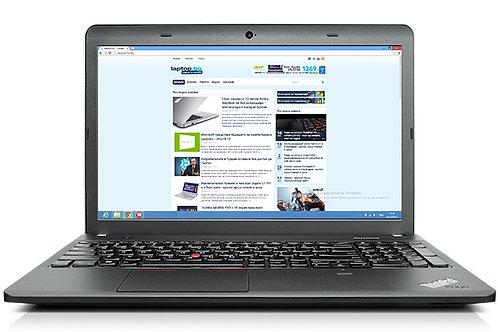 """Thinkpad Edge E540; 15.6""""  1.6GHz; i5 Gen 4; 240 SSD; 8GB mem; Win10"""