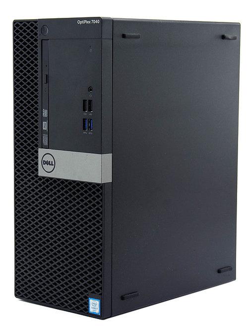 Dell Optiplex 3050, i5 3.4GHz, 7th Gen, Quad Core; 240GB SSD, Win 10