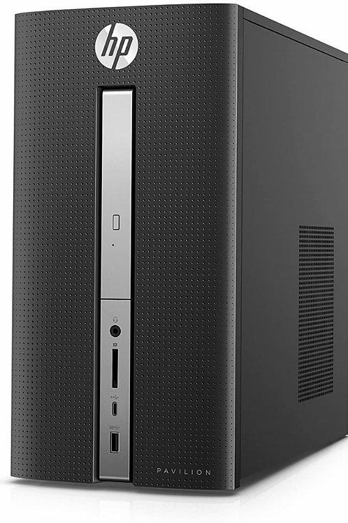 HP Pavilion Desktop Pl 570; i3 3.9GHz; Gen 7; 250 SSD; 8GB; Optical Drive, Win10