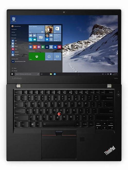 "Lenovo Think Pad Ultrabook T460S 14""; 2.3GHz i5 Gen 6; 256 SSD; 12GB Mem; Win 10"