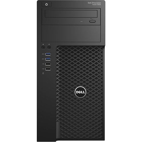 Dell Precision Tower 3620, i7 3.4GHz, 6th Gen, Quad Core, 480GB SSD, 16GB Mem,