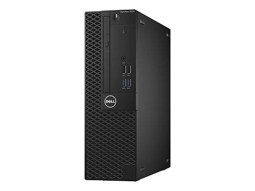 Dell Optiplex 3050, 3.9 GHz; Dual Core; i3 7th Gen; 240 SSD; 8GB Mem; DVDRW; SFF