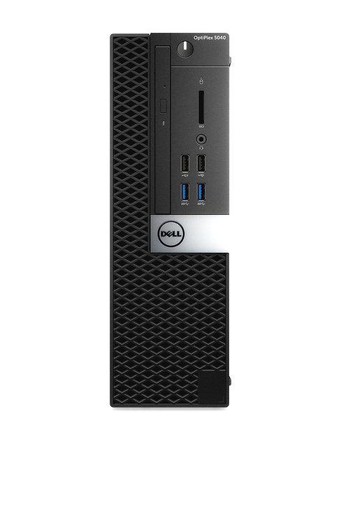 Dell Optiplex 5040 3.4 GHz; Quad Core; i7 6th Gen; 240 SSD; 8GB Mem; DVDRW; SFF