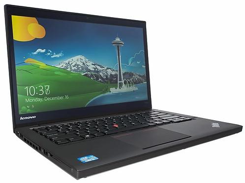 "Lenovo ThinkPad T440 14.3"", i5 1.9Ghz, 4th Gen;  240GB SSD; 8GB, Win 10, Laptop"