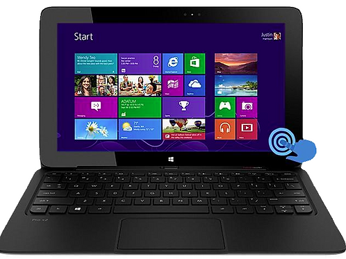 HP Pro X2 612 G2 Tablet Computer; i5 1.6GHz, Gen 4; SSD
