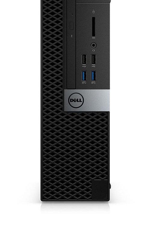 Dell Optiplex 7040, i5 3.2 GHz, 6th Gen, Quad Core, 240 SSD, 8GB mem, DVDRW, SFF