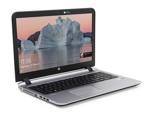 "HP ProBook 450; 15.6""; I3 1.7 GHz; Gen 4; 250 SSD; 8GB; Optical Drive; Win 10"