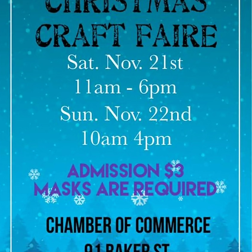 Baker St Christmas Craft Faire THIS EVENT HAS BEEN CANCELLED AS OF NOV 19 DUE TO LATEST COVID RULINGS