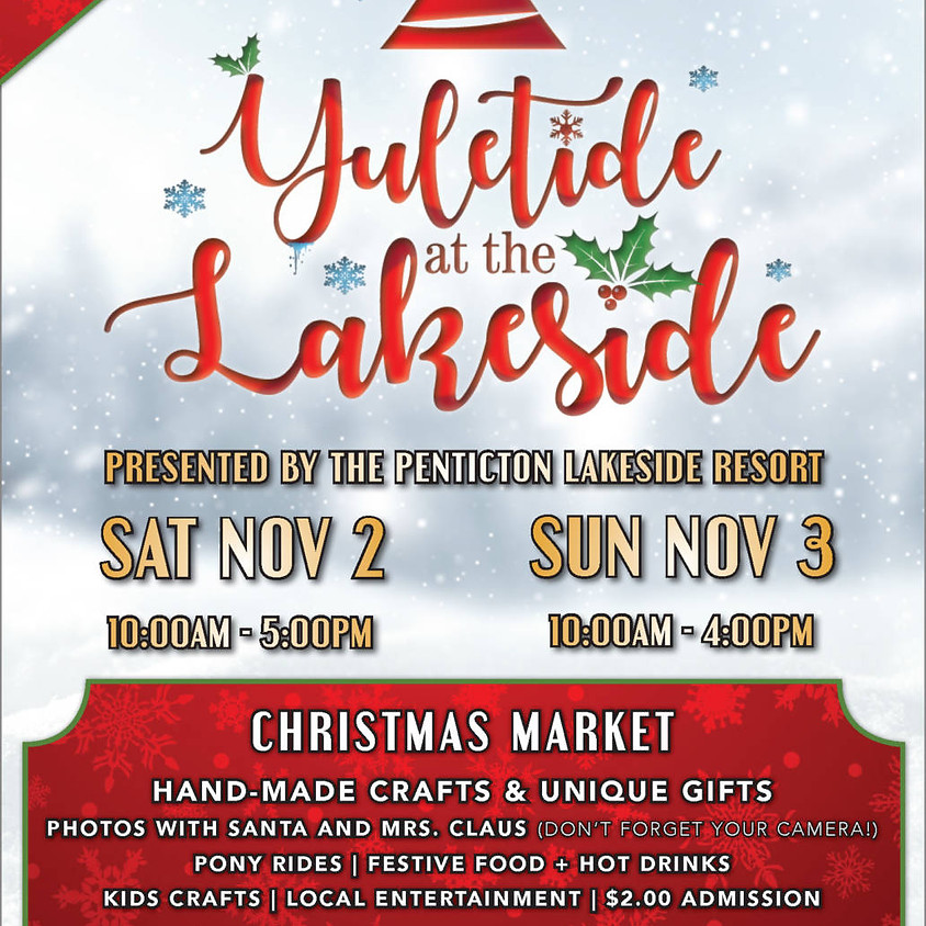 Yuletide At The Lakeside Holiday Market