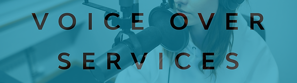 voice over voiceover services recording