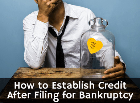 Qualifying For Credit And Loans After Filing Bankruptcy