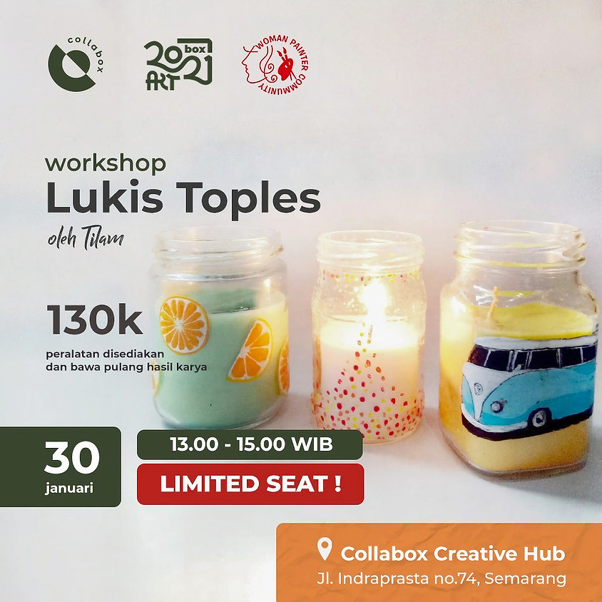 Workshop Lukis Toples