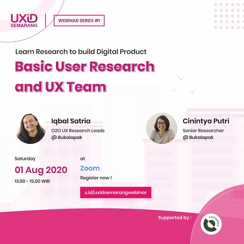 Basic User Research and UX Team