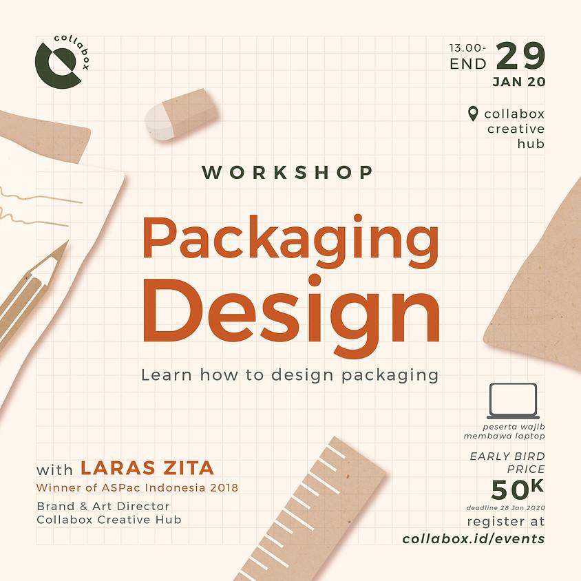 Workshop Packaging Design (Learn how to design packaging)