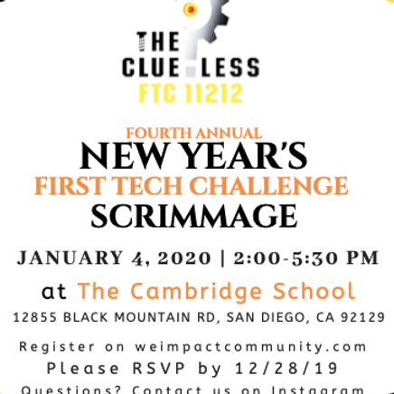 4th Annual FTC New Year's Scrimmage
