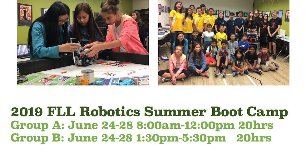 2019 FLL Robotics Boot Camp