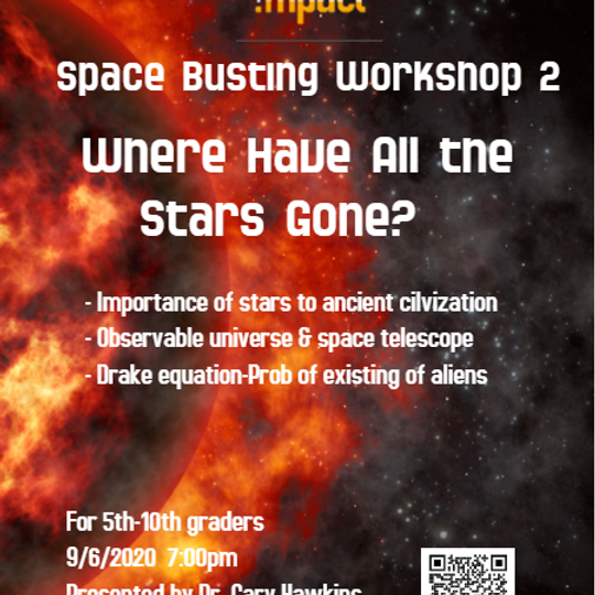 Space Busting Workshop 2- Where Have All The Stars Gone?