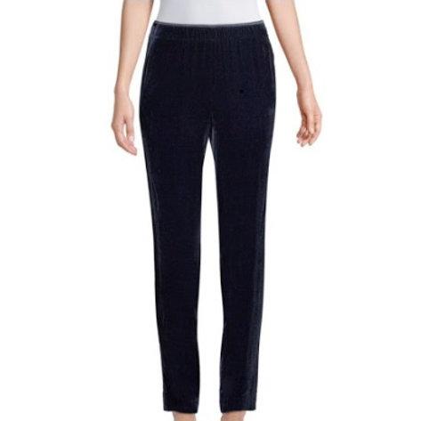 Lafayette 148 NY Velvet Track Pants