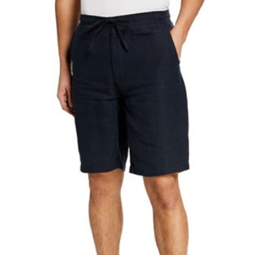 Report Collection Linen Drawstring Shorts