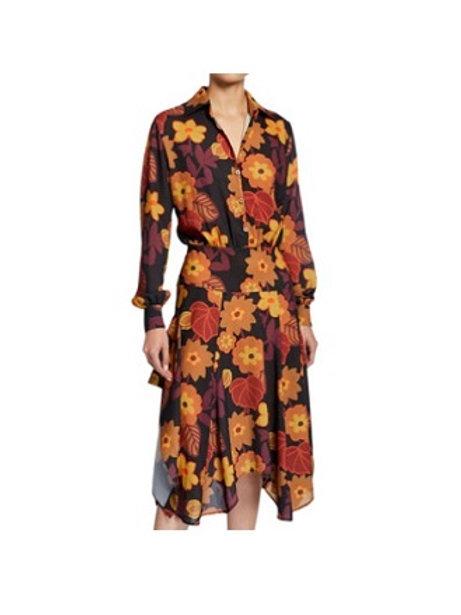 Dodo Bar Or Asymmetrical Shirt Dress