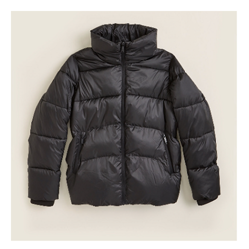 Sam Edelman Short Full Zip Puffer Jacket