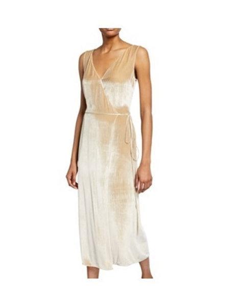 Vince Velvet Wrap Dress