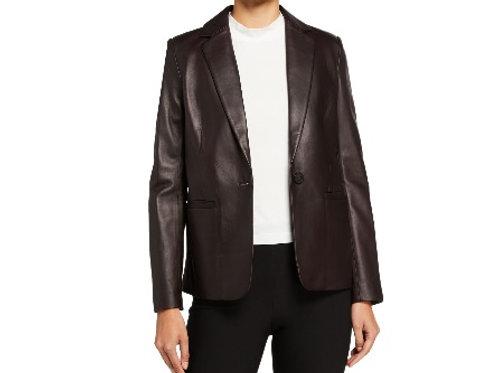 Vince Leather Blazer