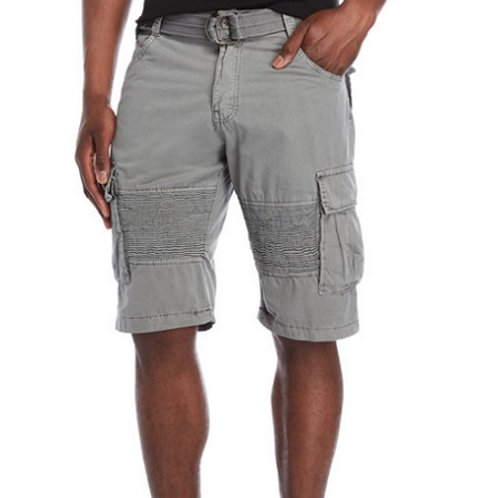 X-Ray Belted Moto Cargo Shorts