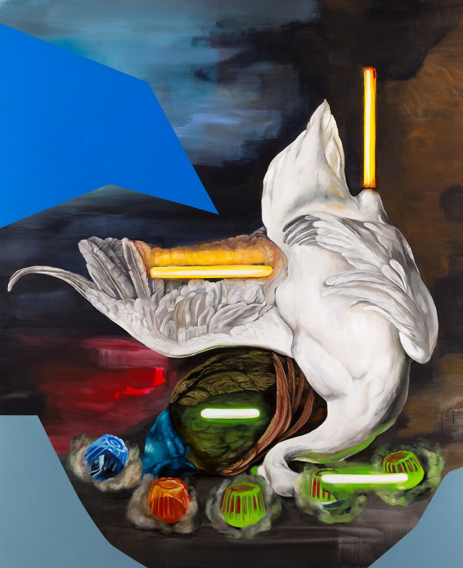 Dead Swan (after Weenix)