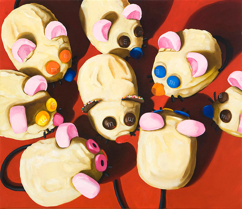 Hopping Mouse Party Cakes