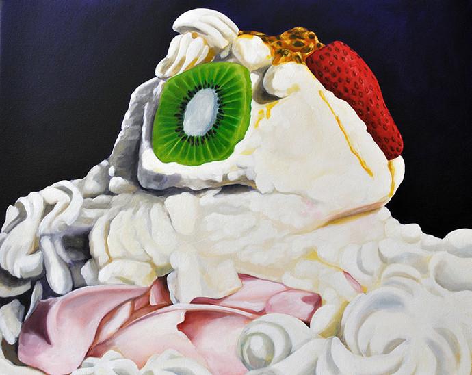 White Gallinule Pavlova II