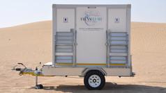 CLEAN FLUSH RENTALS | TWO DOOR MOBILE UNIT